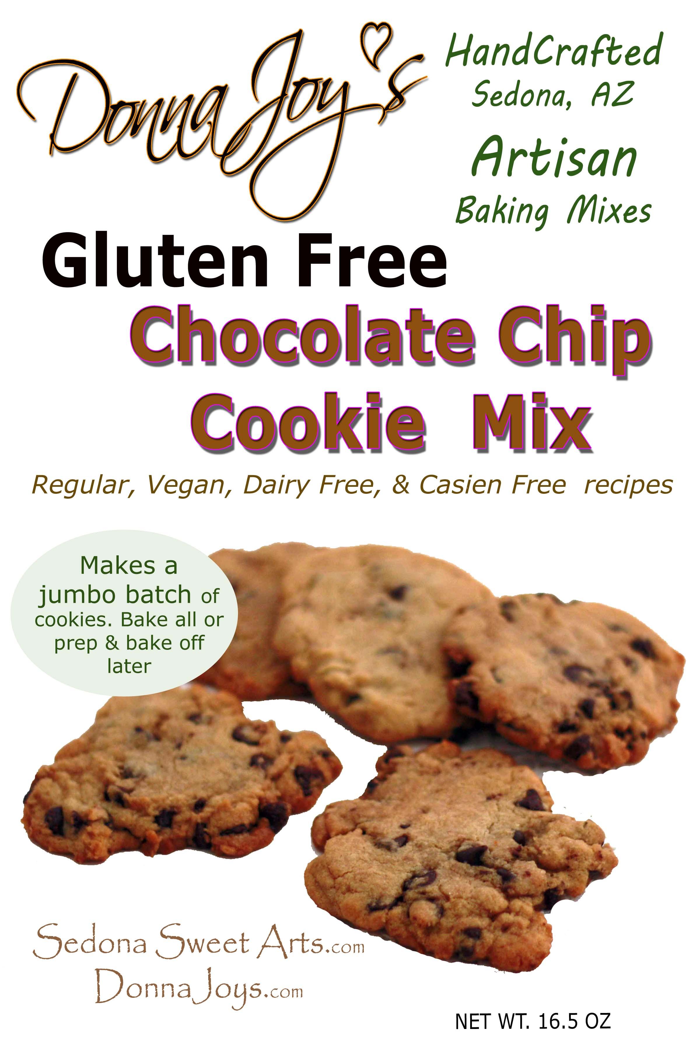 Gluten Free Chocolate Cookie Mix