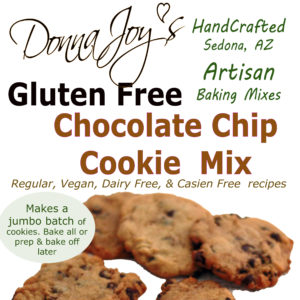 Donna Joy's Gluten Free Chocolate Cookie Mix