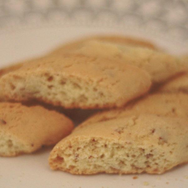 Almond Biscotti Bites Gluten Free