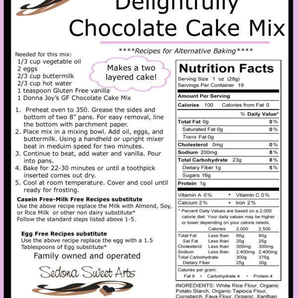 Directions Chocolate Cake