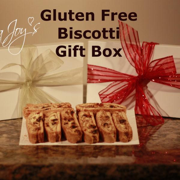 Donna Joy's Gift Box Biscotti Gluten Free