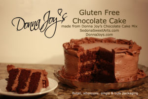 Delightfully Chocolate Gluten Free Cake Mix