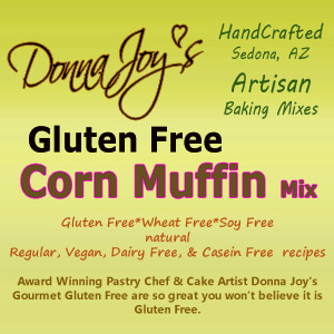Donna Joy's Jiffy gluten free Corn muffins & bread mix