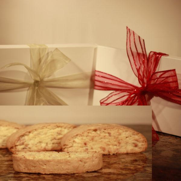 Donna Joy's Gluten Free Jumbo Biscotti Gift Boxed