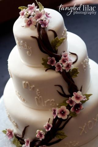 Fondant Wedding cake Sedona AZ
