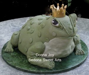 Freddie the Bullfrog Grooms Cake appeared in movie His crown was removable