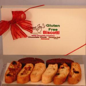 Assorted Flavor Gift Box Gluten Free Biscotti