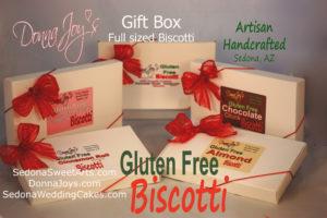 Gluten Free Gift Box Biscotti