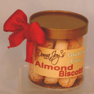 Almond Gluten Free Godl Gift Canister