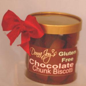 Gold Choclate Chunk Gluten Free Biscotti Gift