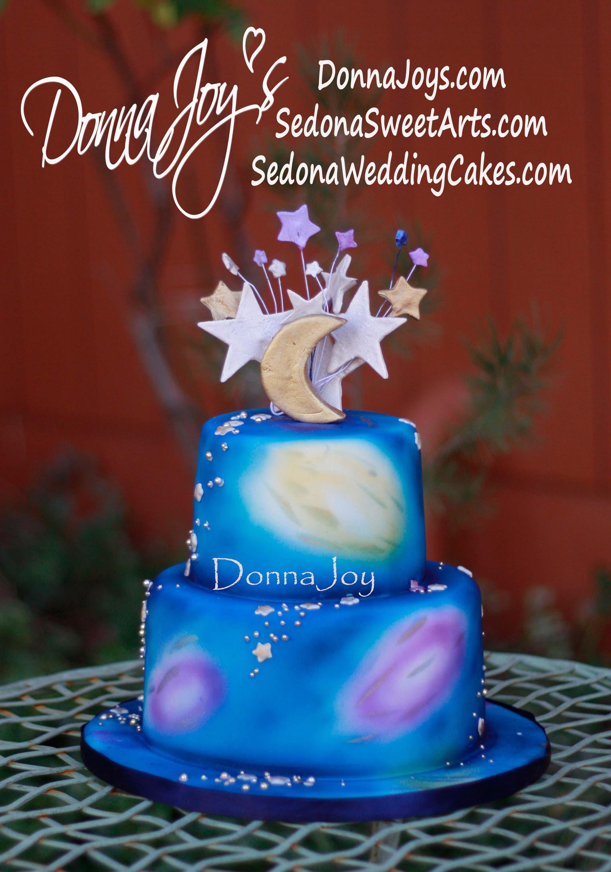 Wedding Cake, Sedona, Starry Night, Starry Cosmic Love Union