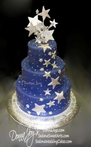 Astronomers wedding Cake