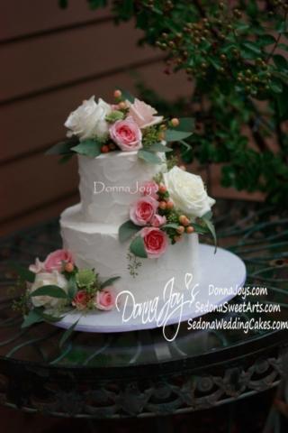 cake,tuscan buttercream, wedding cakes, sedona, AZ