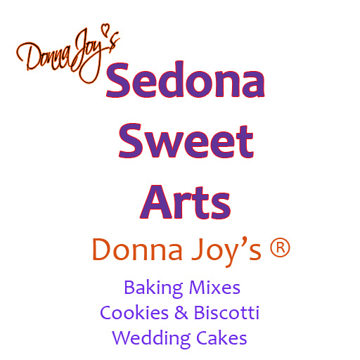 Donna Joy's ® Sedona Sweet Arts ~ Custom Wedding Cakes | Artisan Gluten Free Baking Mixes | Handcrafted Cookies & Biscotti